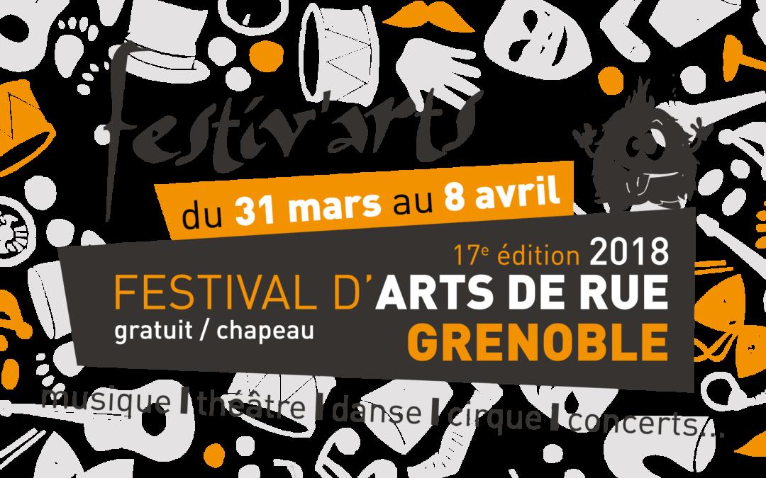 Les dates du festival : du 31 mars au 8 avril !